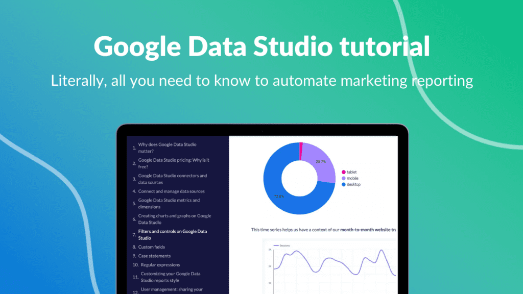 Google Data Studio tutorial
