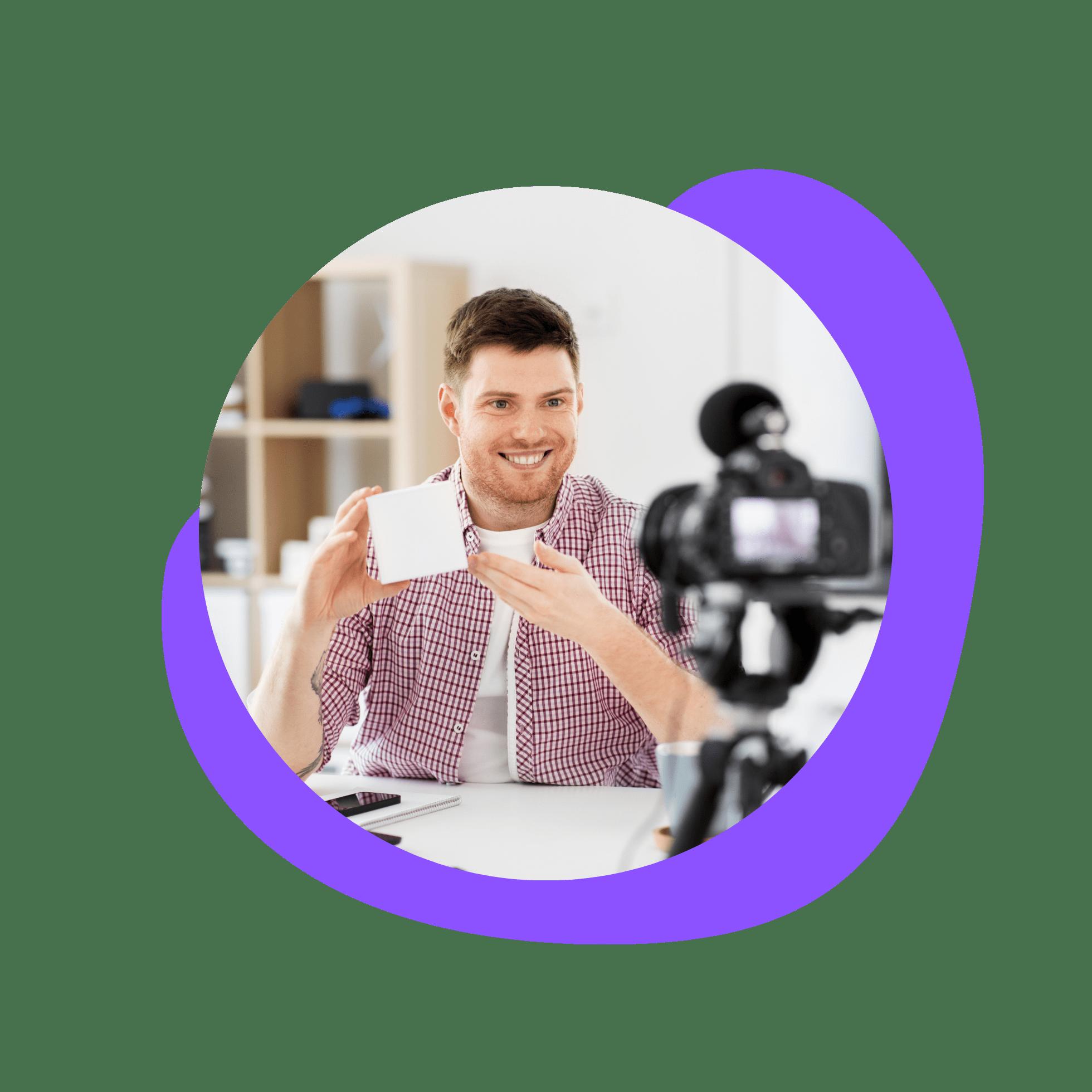 Content creator affiliate program