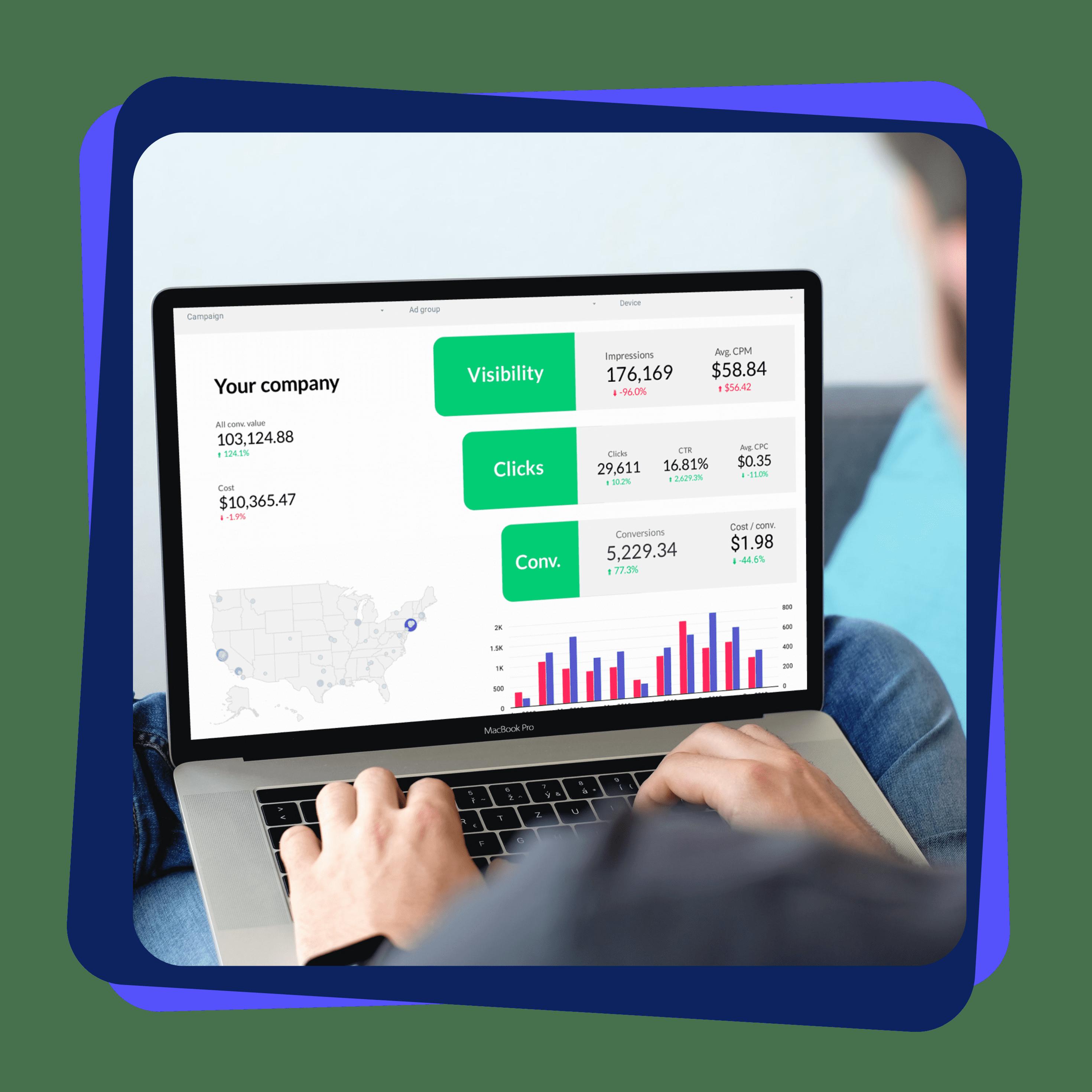 Google Data Studio Report B2B marketers