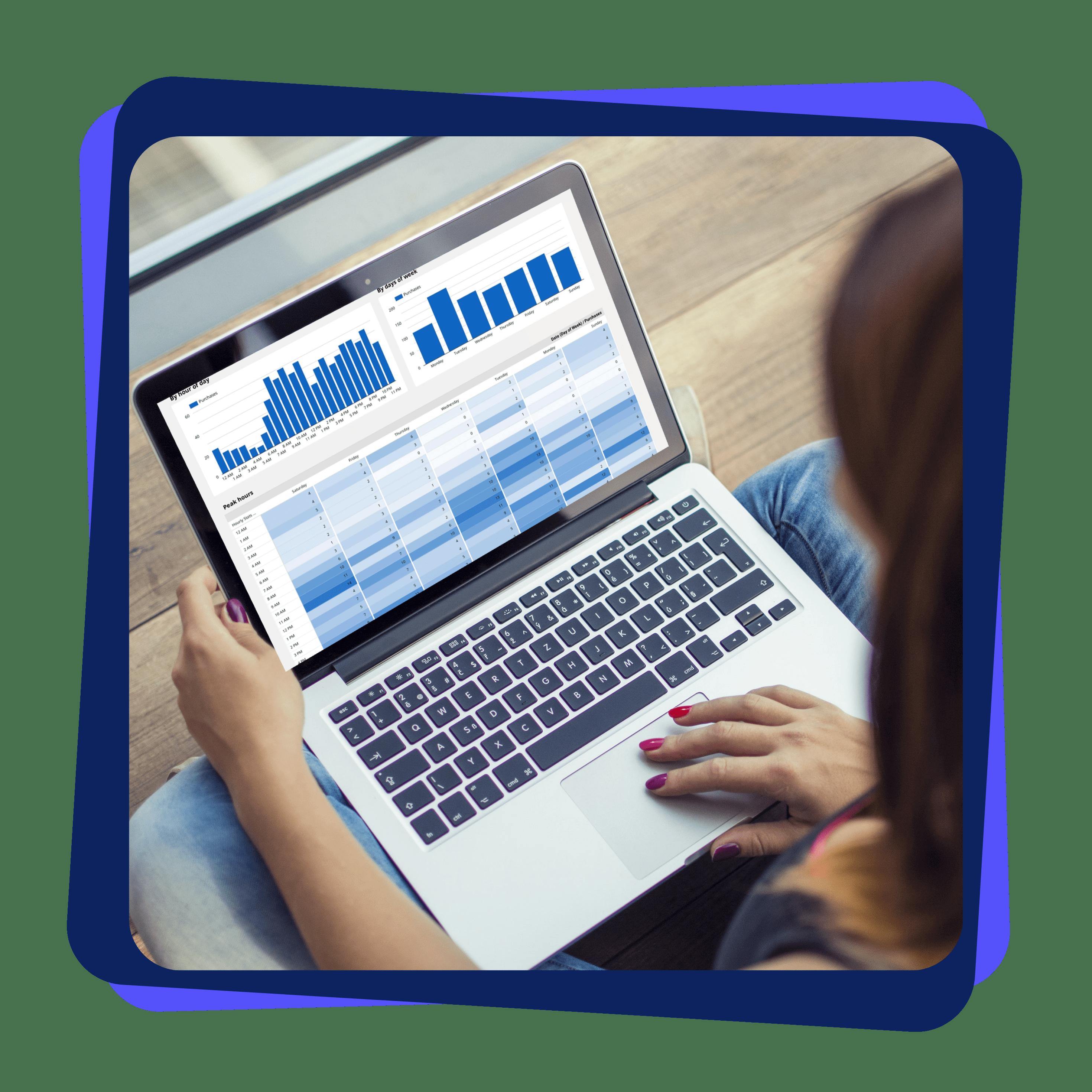 Google Data Studio Report Marketing Analyst